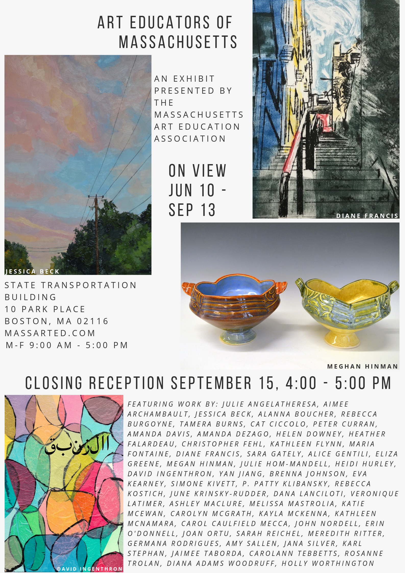 Art Educators of Massachusetts - Juried Exhibit
