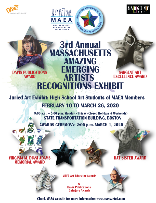 Poster for 2020 MAEA Recognitions Exhibit